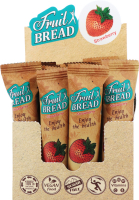 Батончик Fruit Bread енергетичний Полуниця 30г