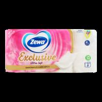 Туалетний папір Zewa Exclusive Ultra Soft Білий, 8 шт.