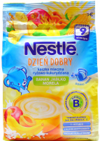 Каша Nestle молочна Рис, кукуруд.,ябл.,бан,абрикосом 230г х8