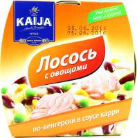 Лосось Kaija по-венгерськи з овочами 220г