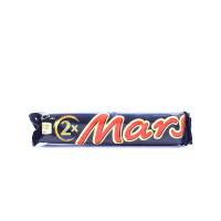 Батончик Mars X2 з нугою і карамеллю 2х35г х24