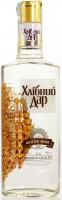 Горілка Хлібний дар Житня люкс 40% 0,37л х12
