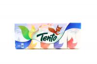 Хустинки носові паперові Tento, 10 пачок