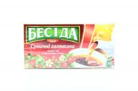 Чай Бесіда з листям суниці 26*1,5г х12