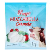 Сир Prego Mozzarella Carmela мякий у розсолі 275г х6