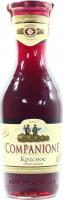 Вино Companione Червоне напівсолодке 1л х3