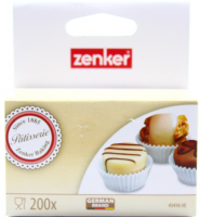 Форма Zenker д/тістечок паперова 200шт арт.43416 х6