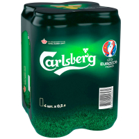 Пиво Carlsberg з/б 4шт*0,5л