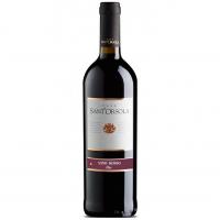 Винo Santorsola сухе червоне 0.75л x2