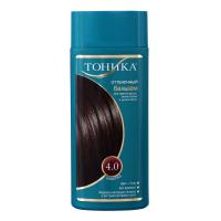 Тонуючий бальзам для світло-русявого, темно-русявого та русявого волосся Тоника №4.0 Шоколад, 150 мл