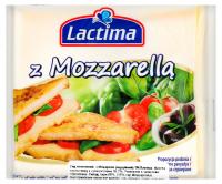 Сир Lactima плавлений з Моцарелою скибочками 130г х6