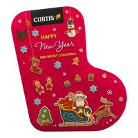 Чай Curtis Happy New Year and Merry Christmas чорн. 80г з/б