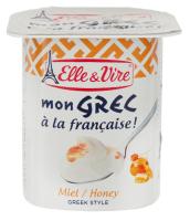 Десерт Elle&Vire молочний грецький з медом 125г х24