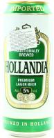 Пиво Hollandia преміум з/б 0,5л