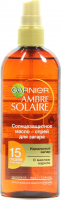Масло Garnier солнцезахистне спрей з каріте SPF15 150мл х6