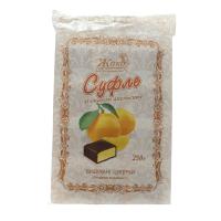 Цукерки Жако Суфле зі смаком апельсину 250г х6