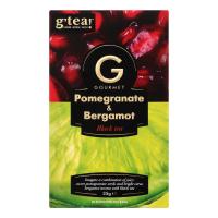 Чай g`tea Gourmet Pomegranate&Bergamot чорн. 20*1,75г 35г
