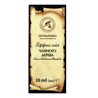 Олія ефірна натуральна Ароматика Чайного дерева, 10 мл