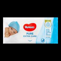 Дитячі серветки вологі гігієнічні Huggies Pure Extra Care, 56 шт.