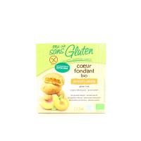 Печиво Gluten бісквітне абрикос-персик органічне 200г х14
