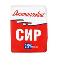 Сир Яготинський кисломолочний 9,5% 200г