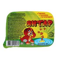 Продукт молоковм. сирний плавлений Янтар 60% 180г х16
