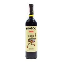 Вино Kengoo Shiraz червоне сухе 0,75л x3