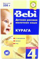 Каша Bebi молочна курага 250г х18