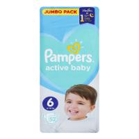 Підгузники Pampers Active Baby 6 13-18кг 52шт х2