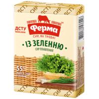 Сир плавлений Ферма із зеленню 90г