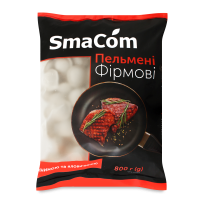 Пельмені SmaCom Фірмові з яловичиною 800г х6