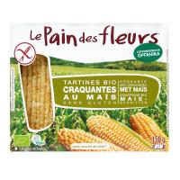 Хлібці Le Pain des Fleurs органічні кукурудзяні безглютенові 150