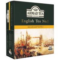 Чай Ahmad English 100*2г