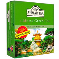 Чай Ahmad Tea London Chonese Green Tea 100*1.8г