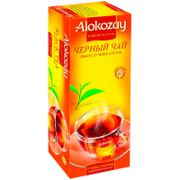 Чай Alokozay чорний цейлонський 25*2г