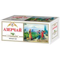 Чай Azercay чорний з чебрецем 25пак.*2г