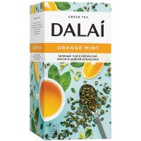 Чай Dalai Orange Mint зелений 45г 25п*1.8г