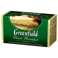 Чай Greenfield Classic Breakfast чорний 25*2г