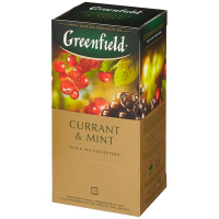 Чай Greenfield Currant & Mint чорний 25*1.8г