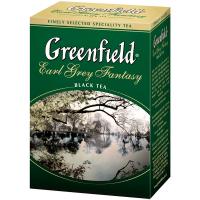 Чай Greenfield Earl Grey Fantasy чорний 100г
