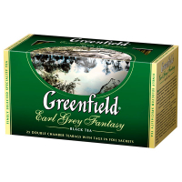Чай Greenfield Earl Grey Fantasy чорний 25*2г