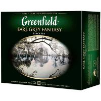 Чай Greenfield Earl Grey Fantasy чорний 50*2г