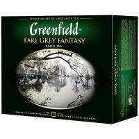 Чай Greenfield Earl Grey Fantasy чорний 50*2г