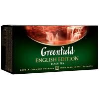 Чай Greenfield English Edition чорний 25*2г