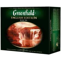 Чай Greenfield English Edition чорний 50*2г