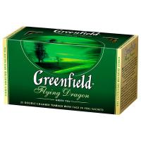 Чай Greenfield Flying Dragon зелений 25*2г