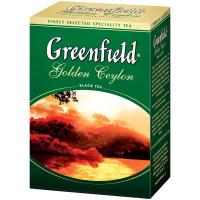 Чай Greenfield Golden Ceylon чорний 100г