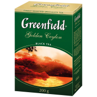 Чай Greenfield Golden Ceylon чорний 200г