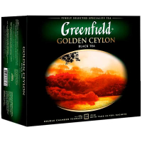 Чай Greenfield Golden Ceylon чорний 50*2г