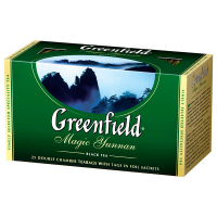 Чай Greenfield Magic Yunnan чорний 25*2г